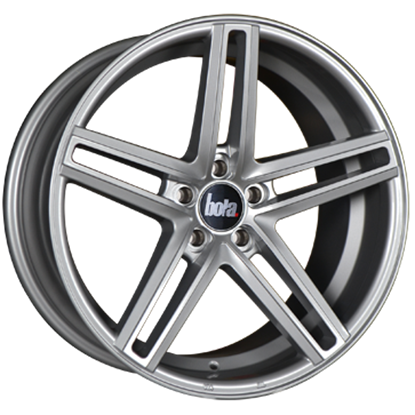 bola b3 alloy wheels silver
